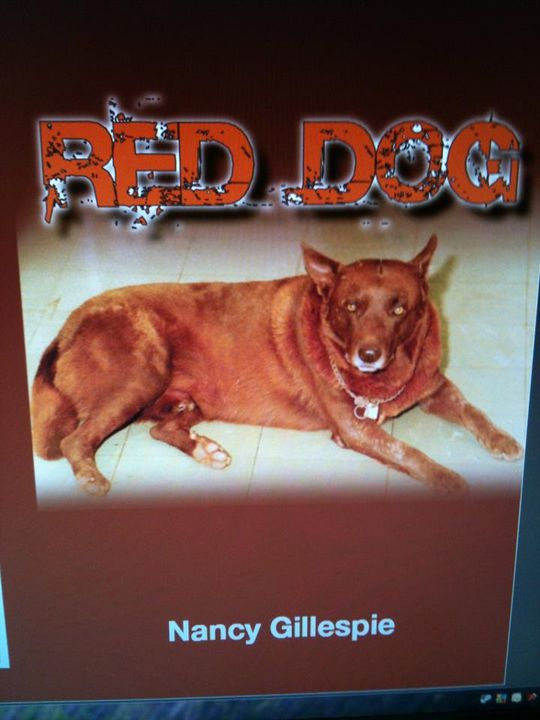 2011 Front Cover of Red Dog by Nancy Gillespie