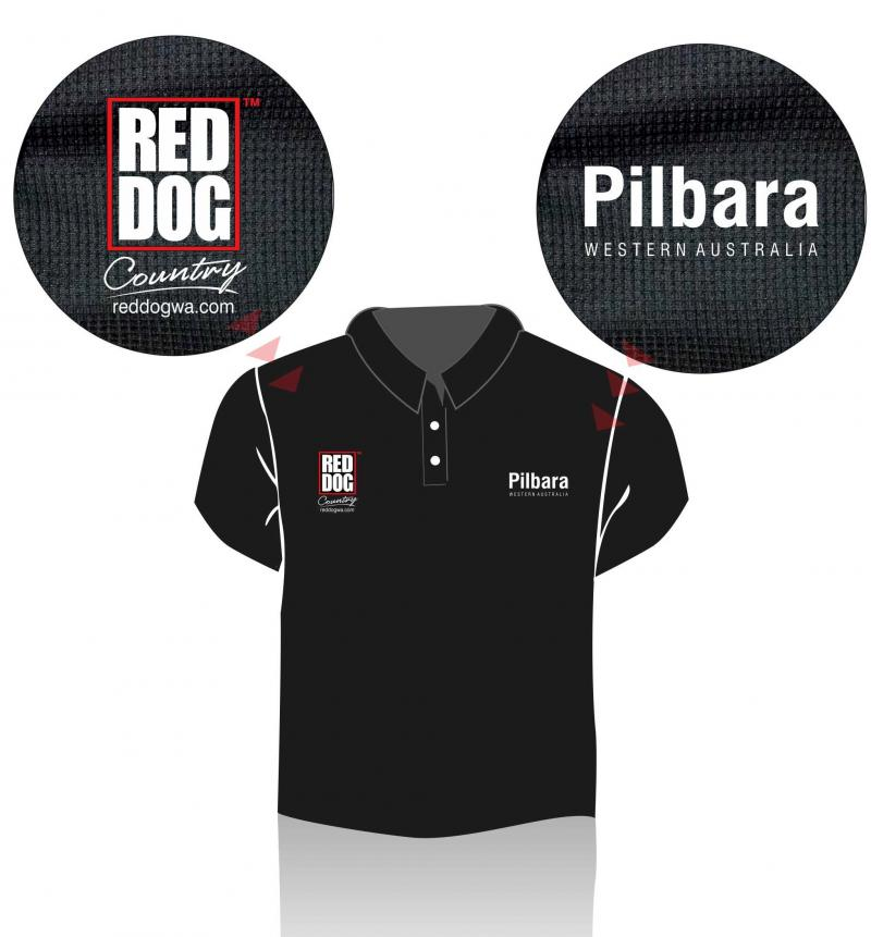 Red Dog Country - Pilbara Polo Shirt