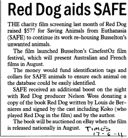 Red Dog and SAFE