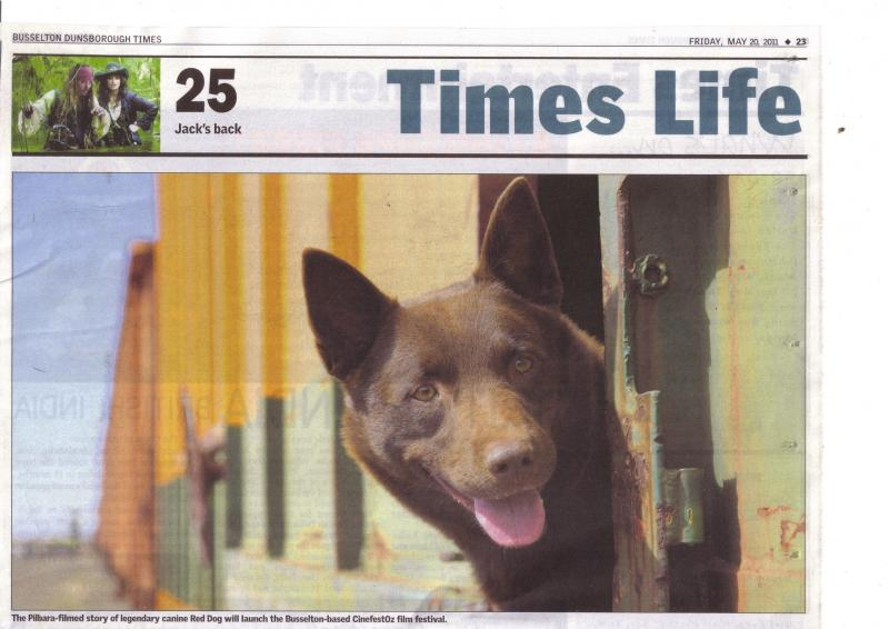 Red Dog Times Write up